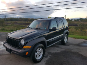 2007 Jeep Liberty 4x4 for sale