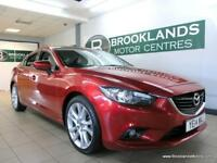Mazda 6 2.2 SPORT 175 [6X MAZDA SERVICES, SAT NAV, LEATHER, REVERSE CAM, HEATED