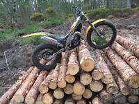 2005 gas gas 280 trials bike