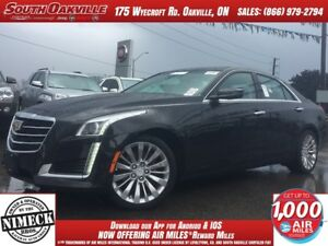 2015 CADILLAC CTS 2.0T   DUAL SUNROOF   HEATED LEATHER   NAVIGAT