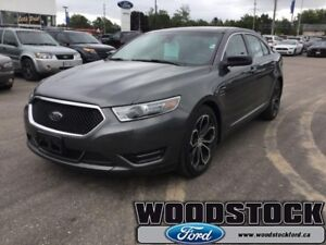 2016 Ford Taurus SHO  401A, 3.5L ECOBOOST ENGINE, POWER MOONROOF