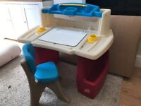 Step2 kids desk and chair
