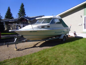 20ft PROFISHER Boat c/w trailer and motors