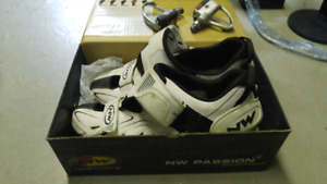 Northwave Passion  cycling shoes and matching wellgo pedals
