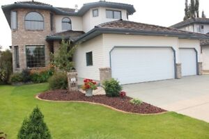 Quiet Sherwood Park home backing onto PARK