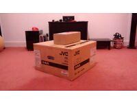JVC DLA-X5000 3D Projector White HDR 4K E Shift + 2x JVC PK-AG3 3D Glasses D-ILA