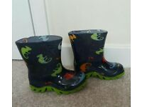 Boys Wellies - Infant size 6