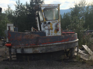 Boom boat for sale