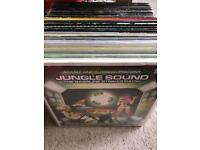 "Over 100 drum n bass DNB jungle vinyl 12"""