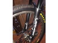Marzocchi bomber triple 200mm downhill forks + direct top mount stem rare