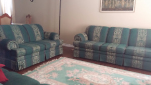 TWO Sofas and love seat