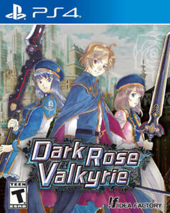 Dark Rose Valkyrie - PS4 - New / Sealed - sell or trade