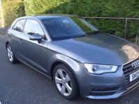 Audi A3 2.0 TDI SPORT - VERY HIGH SPEC - only 32500 miles, Leather interior