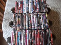 76 USED DVD,s