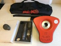 Alko Al-ko Caravan Wheel Lock Kit No 22 - Excellent Condition