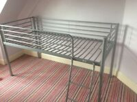 Child's high bed frame