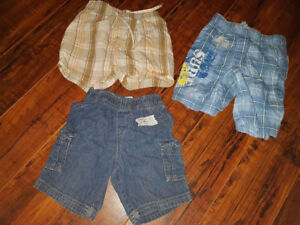 Selling as a lot only Size 12-18 months shorts All for $4