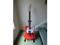 Fender Squire Telecaster with USA Up Graded Parts