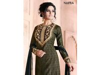 NAIRRA ESSENITA WHOLESALE PARTY-WEAR SALWAR SUITS Catalog pieces: 10