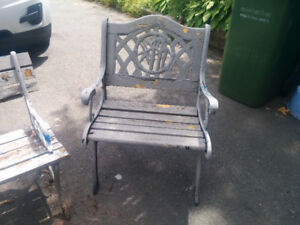 old benches for youre sanctuary or garden as is rough wood