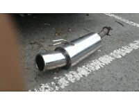 corsa chrome back box will fit other cars