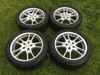 "17"" Mercedes Alloy Wheels with Tyres, Set of 4"
