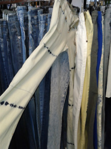 $10 -Womans -Girls GUESS JEANS- OLD STOCK-NEW -HUGE SALE-VARIETY