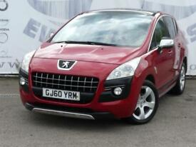 2010 PEUGEOT 3008 1.6 EXCLUSIVE HDI DIESEL FULL PANORAMIC GLASS ROOF WITH ELECTR
