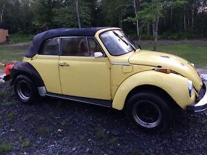 1979 Volkswagen convertible