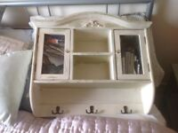 Small wooden painted cabinet