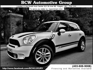 2013 MINI Cooper Countryman S ALL4 AWD Automatic Nice $19,995