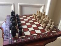The Isle of Lewis Chessmen / Chess set