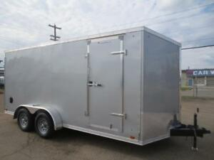7 x 16 DISCOVERY CARGO TRAILER WITH REAR RAMP DOOR