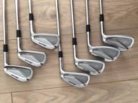 MIZUNO MP-64 Forged Irons, 4-PW iron set, Stiff S300 shafts