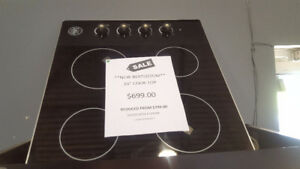 """24"""" BERTOZZONI COOKTOP 36"""" ELECTROLUX INDUCTION COOK TOP"""