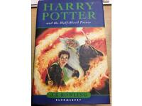 Harry Potter first edition rare
