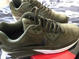 Nike air max velvet suede trainers