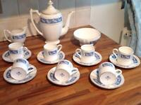 Vintage Coalport Bone china Coffee Set