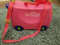 Trunki in pink great condition