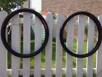 """2x SS semi-urban MTB tyres (Panaracer Mach SS - 26"""" x 1.95"""" & Profile SS 26"""" x1.95)"""