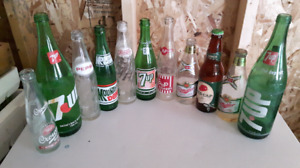 Vintage Pop Bottles / Beer Bottles