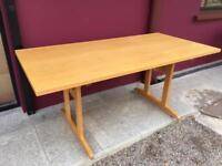 Oak 1600 boardroom table