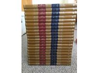 Complete set of 20 new Caxton encyclopaedias