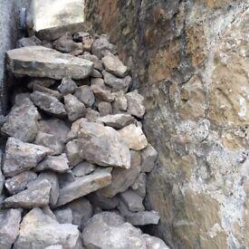 2/3 tonnes of Barn Stone