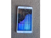 Samsung galaxy tab 4, 7'' screen, Quad-Core processor, 1.5 Gb RAM