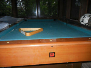 pool table, electric motor, door each for sale