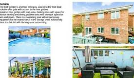 REDUCED 4bed house with pool, sauna, hottub