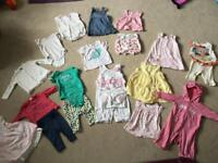 Baby girl bundle 3-6 months all good condition a lot of GAP m&s and NEXT outfits / clothes