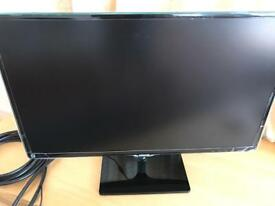 "Samsung 27"" full HD monitor with the Touch-of-color design"