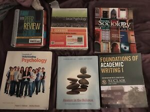 First year liberal arts textbooks